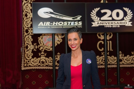 Carmen Nuevo, de alumna a directora de Air Hostess Madrid.
